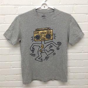 Keith Haring Graffiti T Shirt Size XS